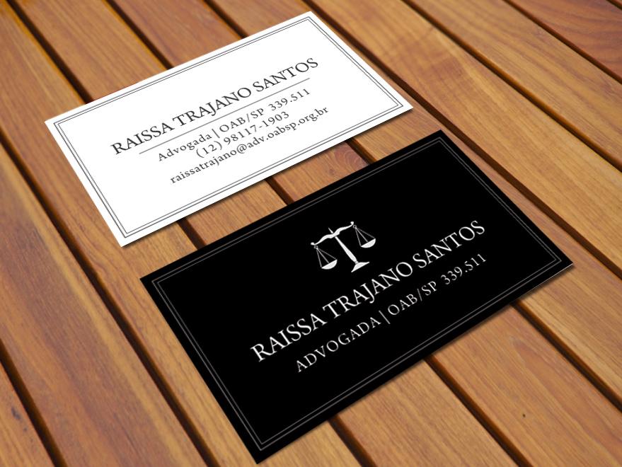 cartão de visita advogados creatio design