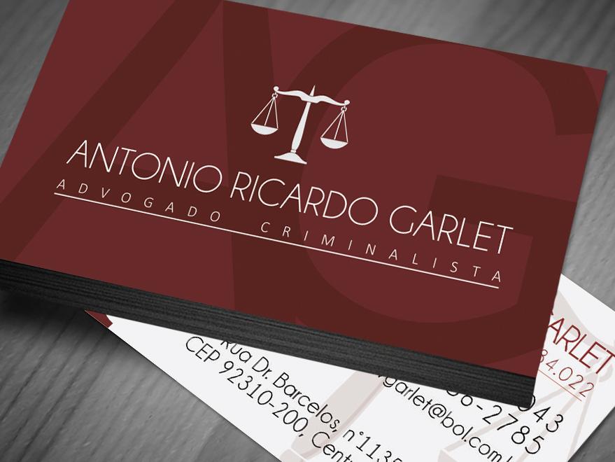 Excepcional Cartão de Visita Advogados - Creatio Design PD78
