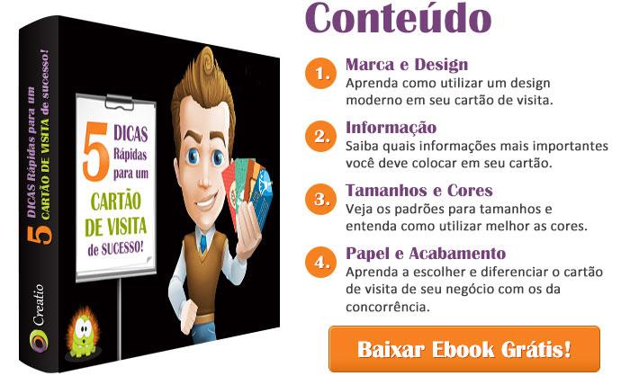 Ebook - 5 Dicas para um Cartão de Visita de Sucesso!