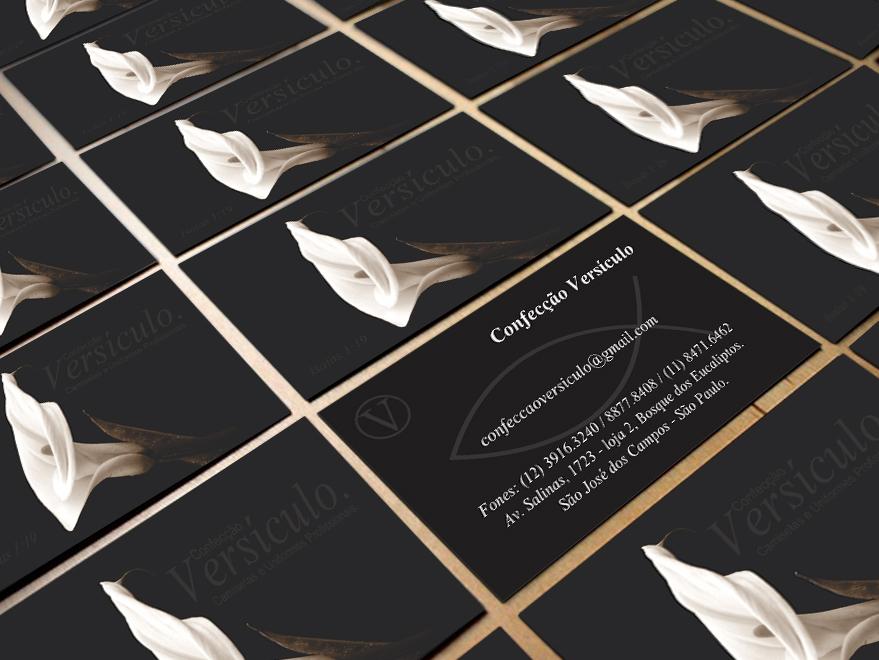 Cartão de Visita Confecção de Roupas
