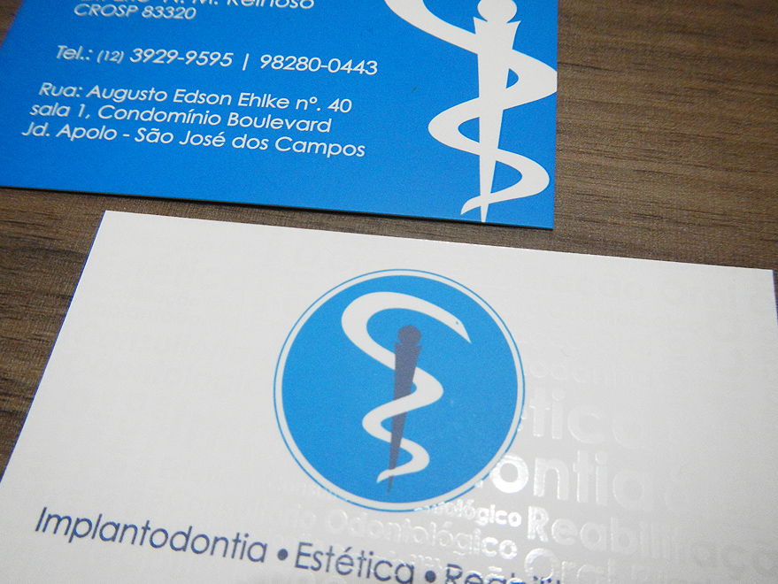 Cartão de Visita Dentista
