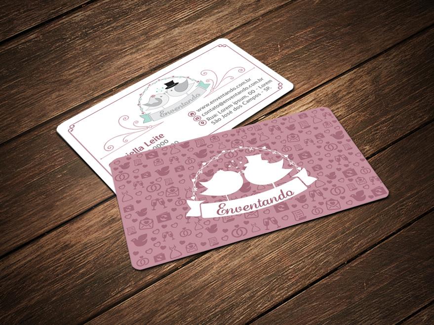 Cartão de Visita Festas e Eventos