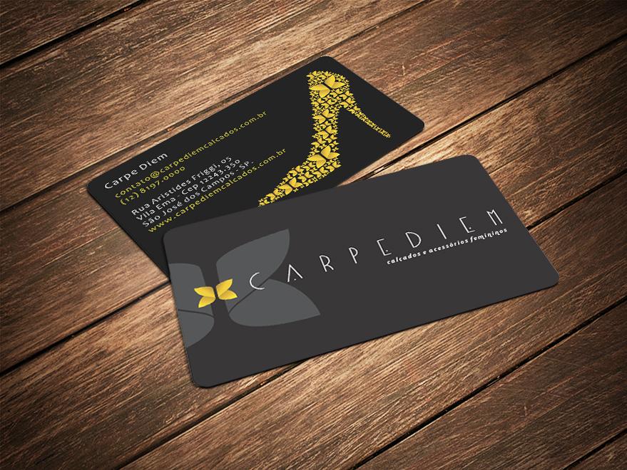 Cartão de Visita Borda Redonda