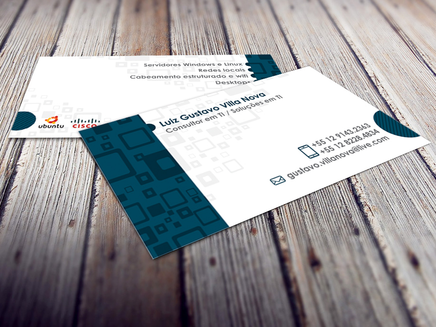 Cartão de Visita Consultor em TI