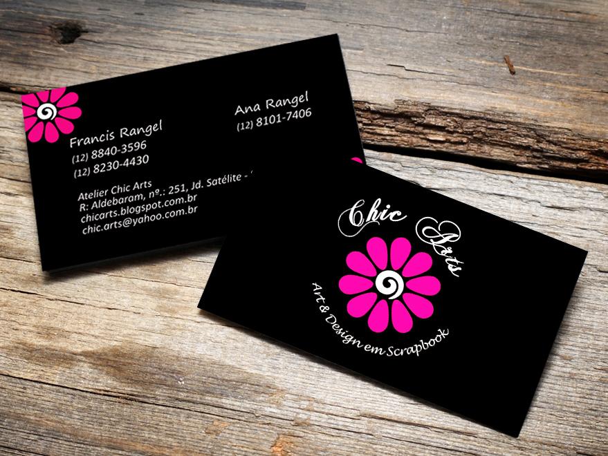 Super Cartão de Visita Artesanato - Creatio Design XE89