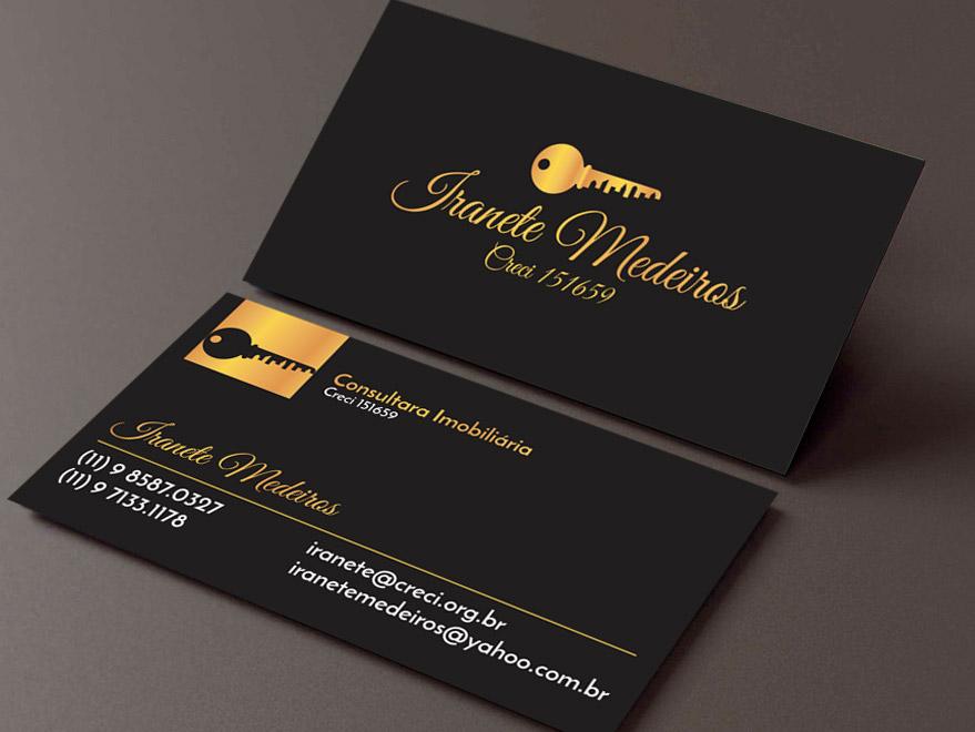 Cartão de Visita Consultor de Imóveis