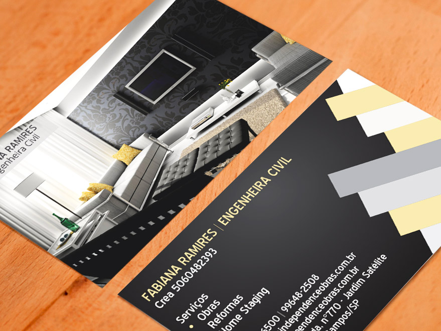 Cartão de Visita Engenheiro