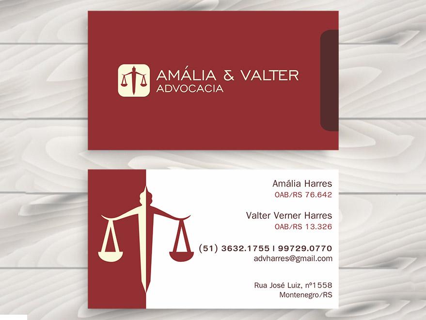 Cartão de Visita Advogado